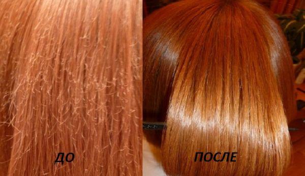 Ботокс для волос кератин