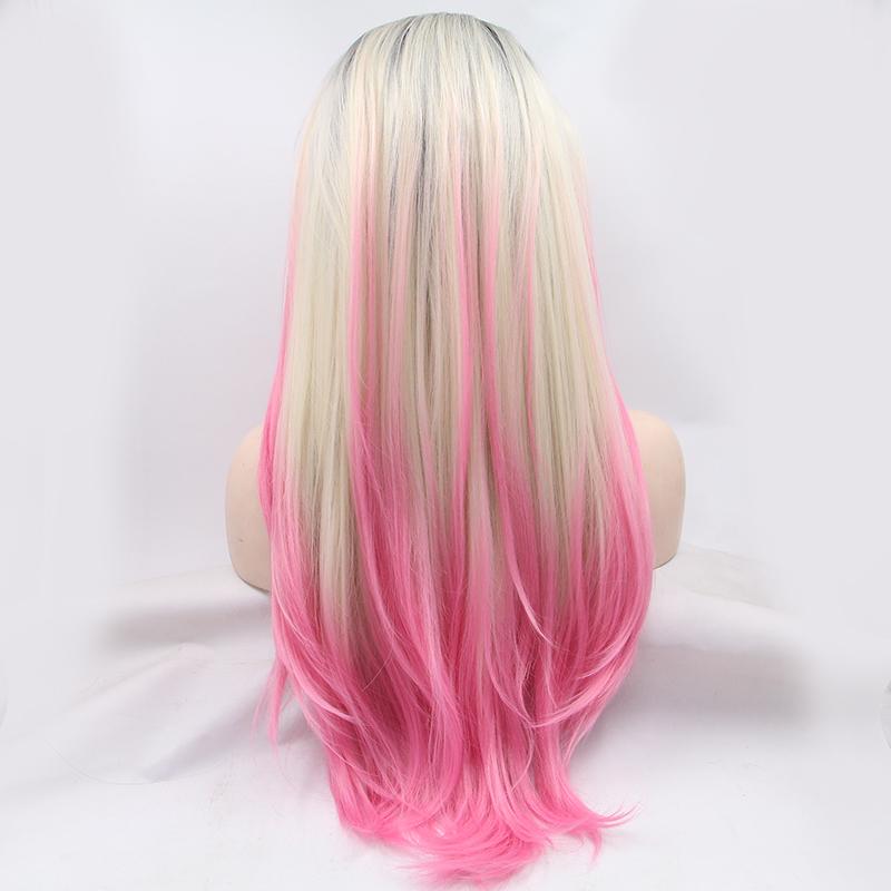 Цветное окрашивание на светлые волосы